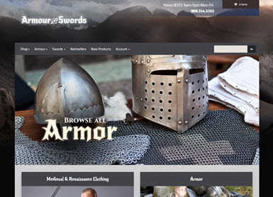 Armour and Swords