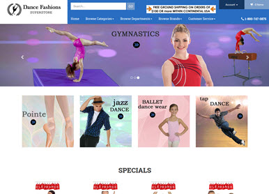 Dance Fashions Store