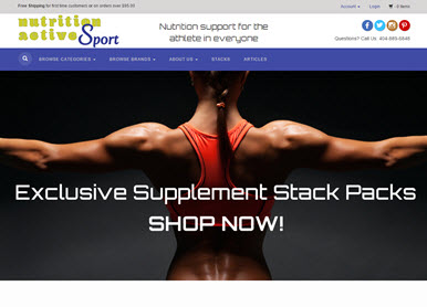 Nutrition Active Sport