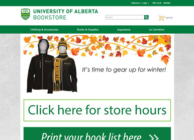 University of Alberta Bookstore